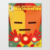 ironman fan art Canvas Print