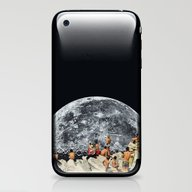 iPhone & iPod Skin featuring MOONRISE  by Beth Hoeckel Collage…