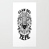 Clan Del Pepe Art Print