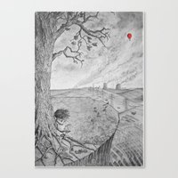 Swollen Canvas Print