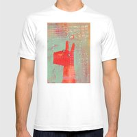 Bernard And The Midge Mens Fitted Tee White SMALL
