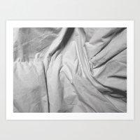 Bedsheets Art Print