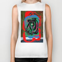Hearts And Minds Are Not… Biker Tank
