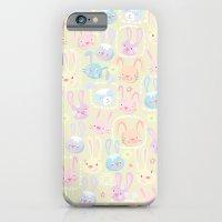too many bunnies iPhone 6 Slim Case