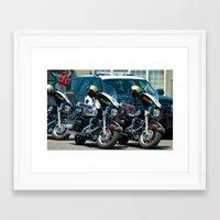 The Enforcer's  Framed Art Print