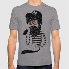 Dreamer Mens Fitted Tee Athletic Grey SMALL