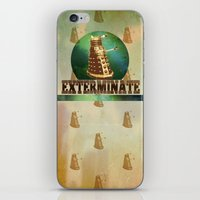 Doctor Who: Dalek Print iPhone & iPod Skin