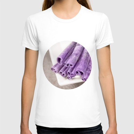 PURPLE CINNAMON T-shirt