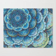 Birthday Mandala Canvas Print