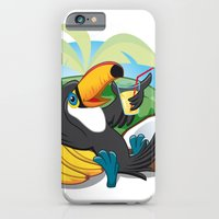 iPhone & iPod Case featuring Tropical toucan by registrento