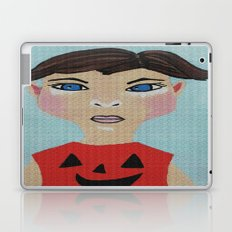Not The Pumpkin Costume Again Laptop & iPad Skin