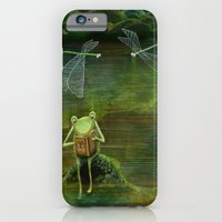 Frog On His Rock iPhone 6 Slim Case