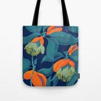 Tropical orange fruit tree Tote Bag