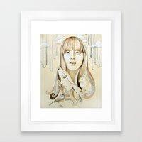 A Familiar Journey Framed Art Print