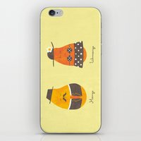 Fruit Genders iPhone & iPod Skin