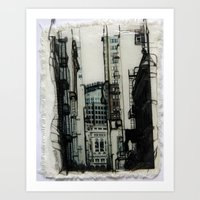 Slice Of San Francisco Art Print