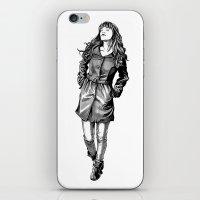 Fabulous Hair iPhone & iPod Skin