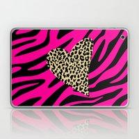 Leopard Zebra Love Laptop & iPad Skin