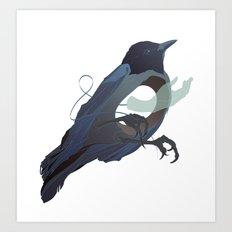 Blackbird Hollow Art Print