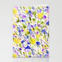 Wild Nature (Yellow and Blue) Stationery Cards