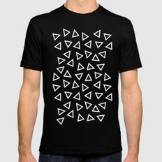 Triangle Spots SMALL Mens Fitted Tee Black