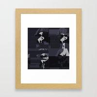 Alice Glass / Crystal Castles Framed Art Print