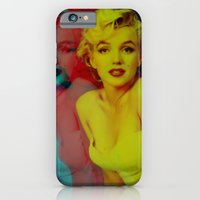 iPhone & iPod Case featuring Marilyn  by Laure.B