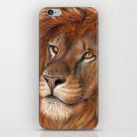 Lion- The King iPhone & iPod Skin