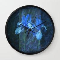 Iris on Film Wall Clock