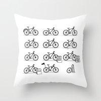 Life Cycle Throw Pillow