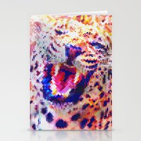 Rainbow Roar Stationery Cards