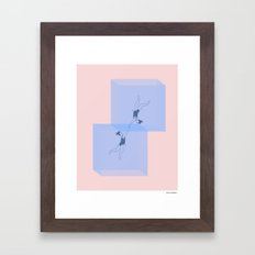 Surface Tension Framed Art Print