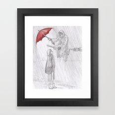 Rainy Monday Framed Art Print