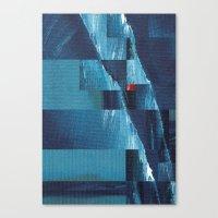Cracking Waves (Distant Shore) Canvas Print