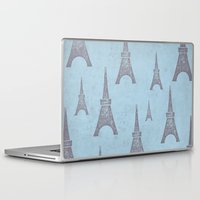 paris Laptop & iPad Skins featuring Paris by sinonelineman