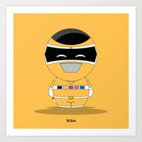 ChibizPop: I.S. Yellow Art Print