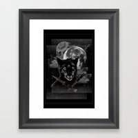 Hungry Knights Framed Art Print