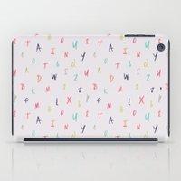 Bright Letters iPad Case