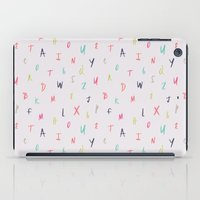 Bright Letters iPad Case