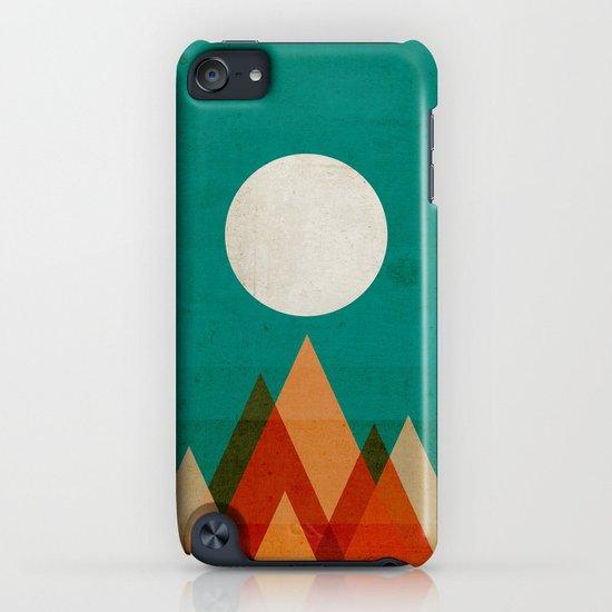 Full moon over Sahara desert iPhone & iPod Case