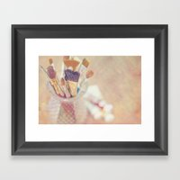 If I Could Say It In Wor… Framed Art Print