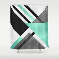 Shower Curtain featuring Foldings by Elisabeth Fredriksso…