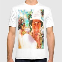 Fear and Loathing in Las Vegas Mens Fitted Tee White SMALL