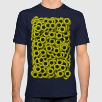 Sunflower Mens Fitted Tee Navy SMALL