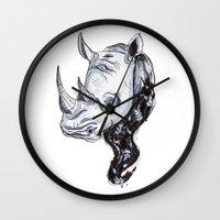 Rhinhost Wall Clock