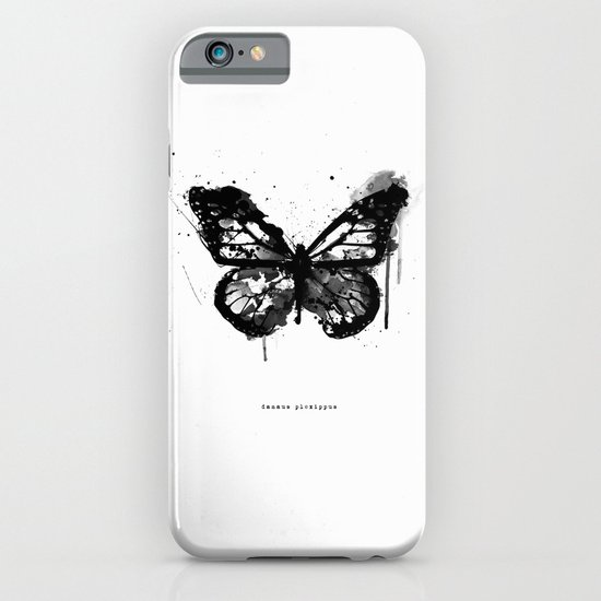 Black Monarch iPhone & iPod Case
