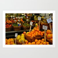 The Market Art Print