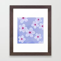 Cherry Blossoms - Painti… Framed Art Print