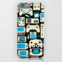 iPhone & iPod Case featuring AXOR Heroes - Love For Games Duotone by Studio Axel Pfaender