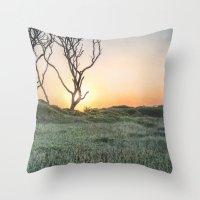 Barrier Island Sunrise II Throw Pillow